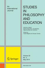 Studies in Philosophy and Education