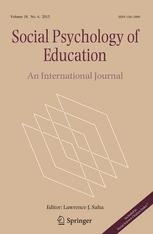 Social Psychology of Education