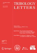 Tribology Letters