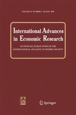International Advances in Economic Research