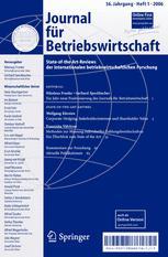 Journal für Betriebswirtschaft