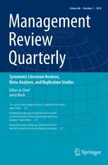 Management Review Quarterly