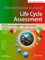 The International Journal of Life Cycle Assessment
