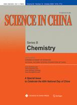 Science in China Series B: Chemistry
