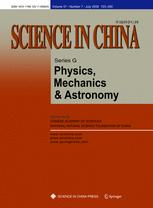 Science in China Series G: Physics, Mechanics and Astronomy