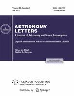 Astronomy Letters
