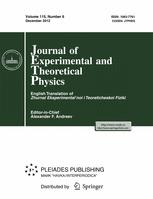 Journal of Experimental and Theoretical Physics