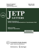 JETP Letters