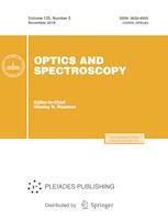 Optics and Spectroscopy