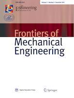 Frontiers of Mechanical Engineering