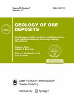 Geology of Ore Deposits