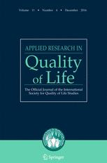 Applied Research in Quality of Life