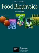 Food Biophysics