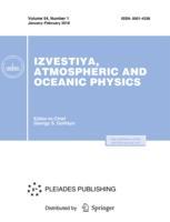 Izvestiya, Atmospheric and Oceanic Physics