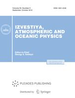 Izvestiya, Atmospheric and Oceanic Physics