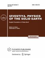 Izvestiya, Physics of the Solid Earth