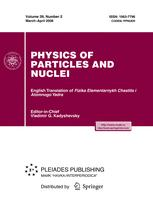 Physics of Particles and Nuclei