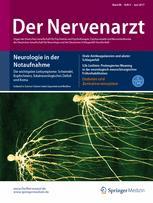 Der Nervenarzt 6/2017