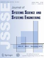 Journal of Systems Science and Systems Engineering