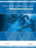 Central European Journal of Mathematics