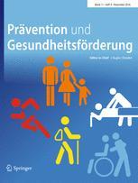 Prävention und Gesundheitsförderung