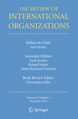 The Review of International Organizations