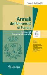 Annali dell'Università' di Ferrara