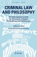 Criminal Law and Philosophy