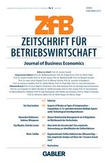 Zeitschrift für Betriebswirtschaft