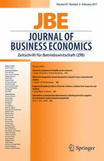 Journal of Business Economics 2/2017