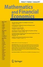 Mathematics and Financial Economics