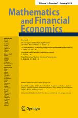 Mathematics and Financial Economics