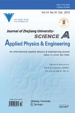 Journal of Zhejiang University SCIENCE A
