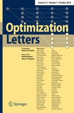 Optimization Letters