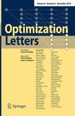 Optimization Letters