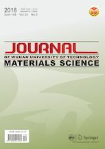 Journal of Wuhan University of Technology-Mater. Sci. Ed.