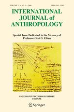 International Journal of Anthropology