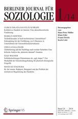 Berliner Journal für Soziologie