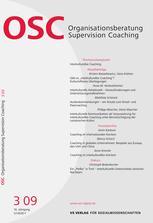 Organisationsberatung, Supervision, Coaching