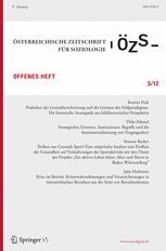 Österreichische Zeitschrift für Soziologie