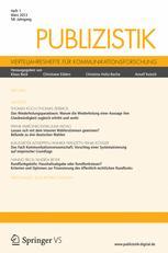 Publizistik 1/2013
