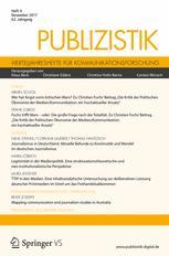 Publizistik 4/2017