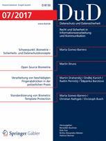 Datenschutz und Datensicherheit - DuD 7/2017