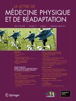 La Lettre de médecine physique et de réadaptation