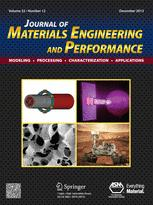 Journal of Materials Engineering and Performance