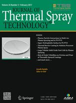 Journal of Thermal Spray Technology