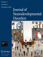 Journal of Neurodevelopmental Disorders