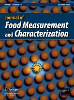 Journal of Food Measurement & Characterization