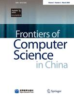 Frontiers of Computer Science in China