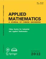 Applied Mathematics-A Journal of Chinese Universities